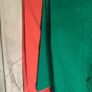 Lot: Colorful luxury designer summer pants (slim)